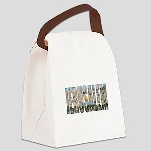 Jerusalem Canvas Lunch Bag