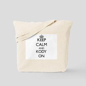 Keep Calm and Kody ON Tote Bag