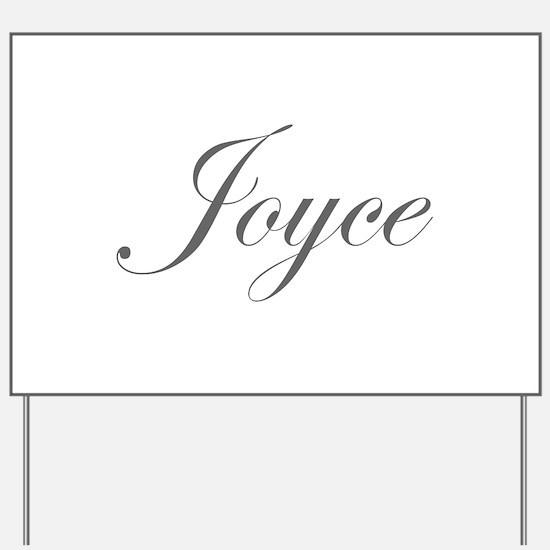 Joyce-Edw gray 170 Yard Sign