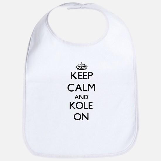 Keep Calm and Kole ON Bib