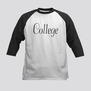 College Kids Baseball Jersey