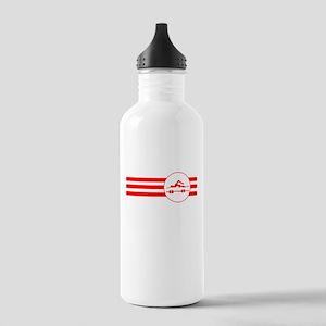 Swimmer Stripes (Red) Water Bottle