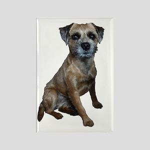 Border Terrier Girl Rectangle Magnet