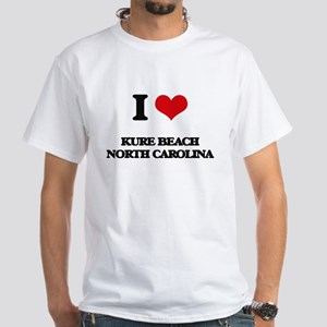 I love Kure Beach North Carolina T-Shirt