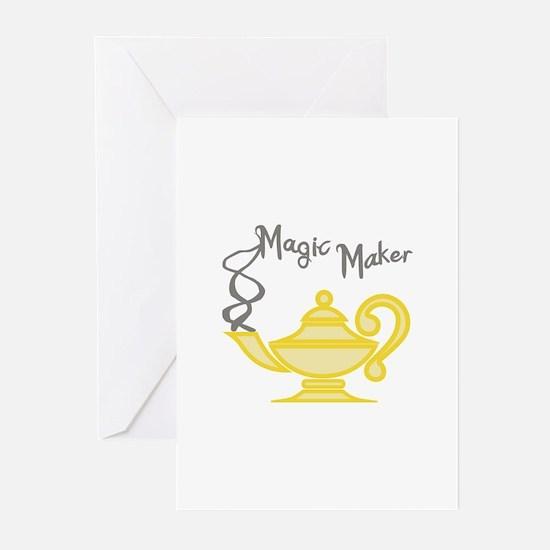 MAGIC MAKER Greeting Cards