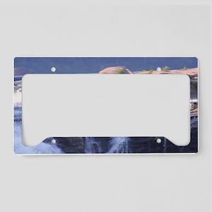 West Virginia Landscape License Plate Holder