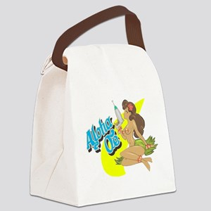 Aloha Oe Canvas Lunch Bag