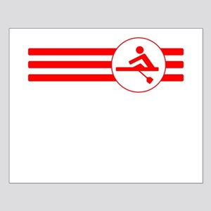 Rower Stripes (Red) Posters