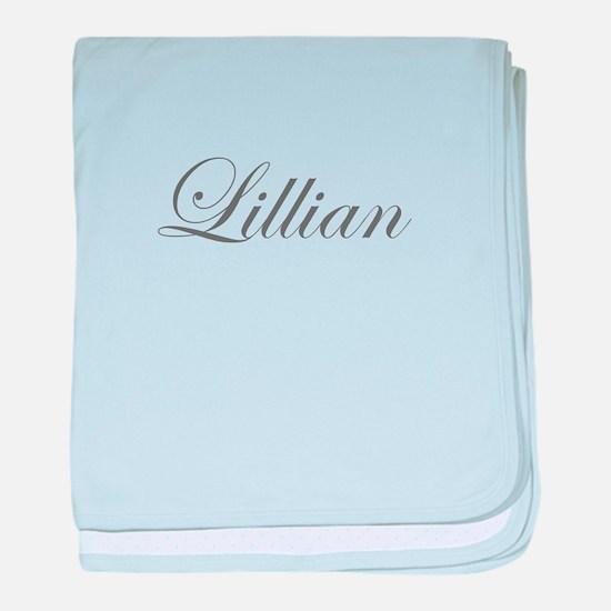 Lillian-Edw gray 170 baby blanket