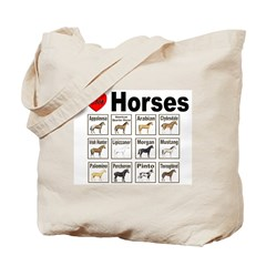 Horse Lovers Tote Bag for Horse Lovers