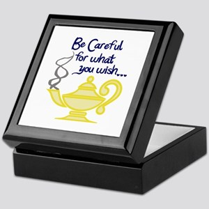 CAREFUL WHAT YOU WISH Keepsake Box
