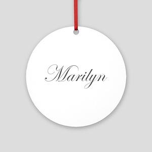 Marilyn-Edw gray 170 Ornament (Round)