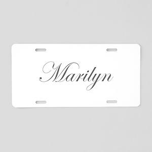 Marilyn-Edw gray 170 Aluminum License Plate