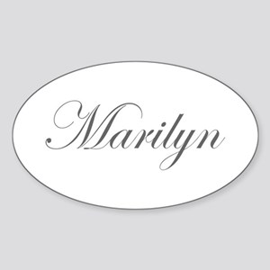 Marilyn-Edw gray 170 Sticker