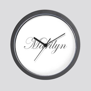 Marilyn-Edw gray 170 Wall Clock