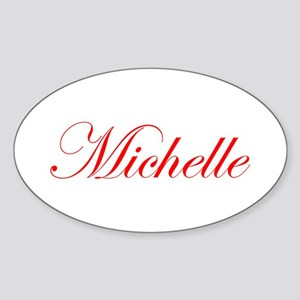 Michelle-Edw red 170 Sticker