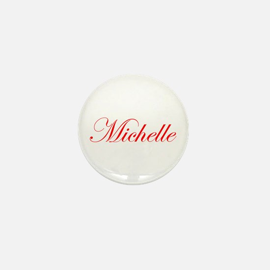 Michelle-Edw red 170 Mini Button