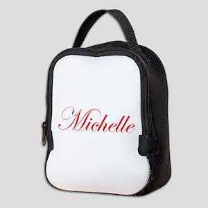 Michelle-Edw red 170 Neoprene Lunch Bag