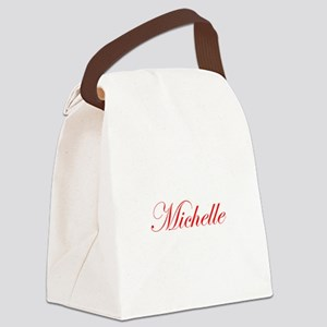 Michelle-Edw red 170 Canvas Lunch Bag