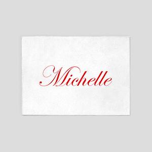 Michelle-Edw red 170 5'x7'Area Rug