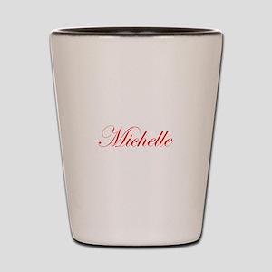 Michelle-Edw red 170 Shot Glass