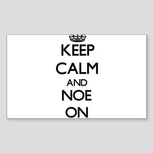 Keep Calm and Noe ON Sticker