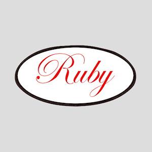Ruby-Edw red 170 Patch