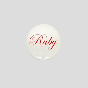 Ruby-Edw red 170 Mini Button