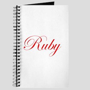 Ruby-Edw red 170 Journal