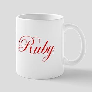 Ruby-Edw red 170 Mugs