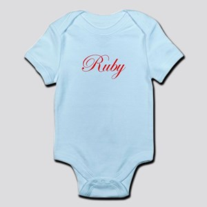 Ruby-Edw red 170 Body Suit