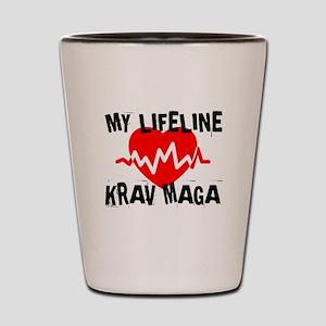 My Life Line Krav Maga Shot Glass