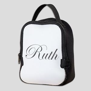 Ruth-Edw gray 170 Neoprene Lunch Bag
