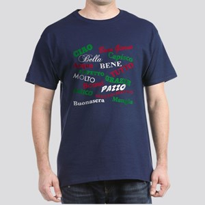 Italian Sayings Dark T-Shirt