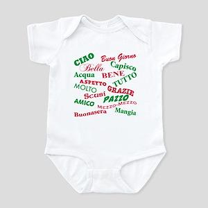 Italian Sayings Infant Bodysuit