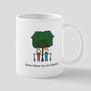 Bloom Where Planted Mugs