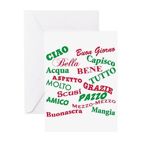Italian Sayings Greeting Card