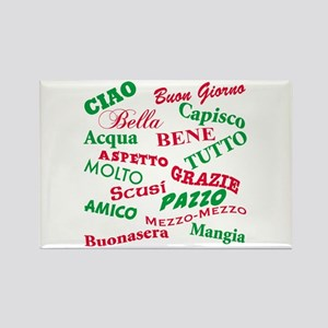 Italian Sayings Rectangle Magnet