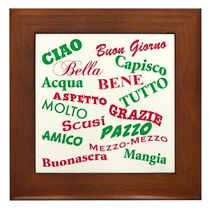 Italian Wall Art - CafePress