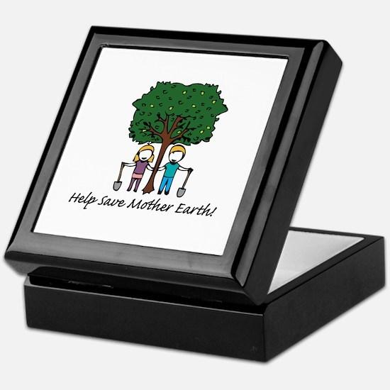 Help Mother Earth Keepsake Box
