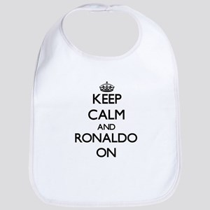 Keep Calm and Ronaldo ON Bib