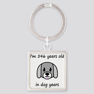 78 dog years 2 - 2 Keychains