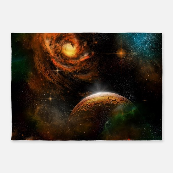 Awesome universe 5'x7'Area Rug