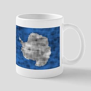 Distressed Antarctica Flag Mugs