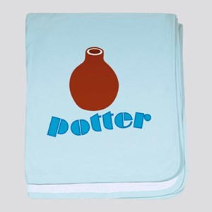 Potter baby blanket