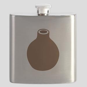 Brown Vase Flask