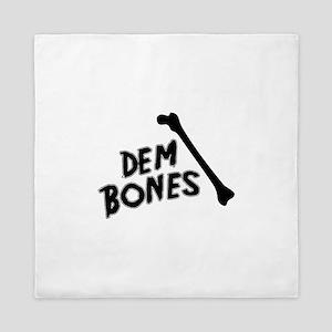 Dem Bones Queen Duvet