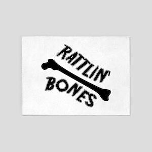 Rattlin Bones 5'x7'Area Rug