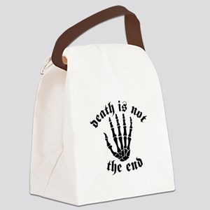 Not the End Canvas Lunch Bag