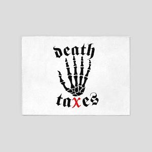 Death Taxes 5'x7'Area Rug
